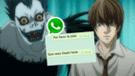 WhastApp: chico otaku convence a su novia de ver Death Note y así le responden [FOTO]