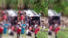 Chachapoyas: bus que transportaba a docentes se despista y cae a abismo  [VIDEO]