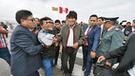 """Evo Morales: """"Tren Bioceánico será el nuevo canal de Panamá"""""""