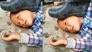 Facebook: niño asustó a cibernautas con insólita foto; sin embargo descubrieron el misterio