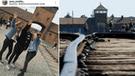 Adolescentes realizan el saludo nazi en la entrada de Auschwitz y lo presumen en redes