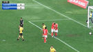 Segunda División: jugador de Cienciano metió gol con insólita parte del cuerpo [VIDEO]