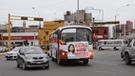 Keiko Fujimori: portátil llega a la marcha en buses contratados