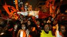 Simpatizantes de Fuerza Popular marchan en apoyo a Keiko Fujimori [EN VIVO]