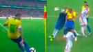 Argentina vs Brasil: Miranda marcó gol triunfal tras preciso centro de Neymar [VIDEO]