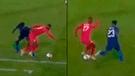 Perú vs Estados Unidos: Luis Advíncula sacó a bailar a rival [VIDEO]