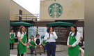 Starbucks Perú estrena primera tienda de material reciclado