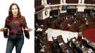 Andrea Llosa explota contra congresistas con contundentes calificativos
