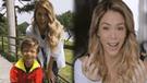 Sheyla Rojas en medio de críticas por teñir el cabello de su hijo [VIDEO]