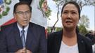 Secretaria de Keiko Fujimori tenía expediente contra Vizcarra