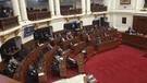 Fujimorismo se ausentó durante presentación de Villanueva en el Congreso