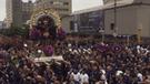 Así se desarrolló el segundo recorrido del Señor de los Milagros [VIDEO]