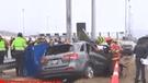 Panamericana Sur: joven fallece tras impactar su auto contra columna de acero [VIDEO]