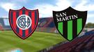 San Lorenzo vs San Martín EN VIVO ONLINE: 0-0 por la Superliga Argentina