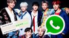 WhatsApp: fanático de Kpop recibe apoyo de 'armys' tras saberse que su novia lo dejó [FOTOS]