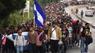 México abre puente fronterizo a caravana de migrantes