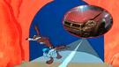 Facebook: Joven casi muere al chocar su auto contra mural hecho por fan de lo Looney Toons [FOTO]