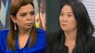 Milagros Leiva arremete contra Keiko Fujimori durante entrevista en vivo [VIDEO]