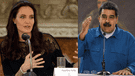Angelina Jolie arremete contra Nicolás Maduro durante encuentro con venezolanos en Perú [VIDEO]
