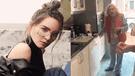 Belinda grababa video en Instagram y su abuela la trolea de forma épica