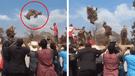 Facebook: ¿Captan a hombre flotando en ritual africano? Video deja en shock a todos