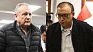 Pier Figari y sus gestos con Silva Checa tras orden de prisión preventiva [VIDEO]