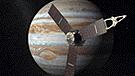 Captan sorprendentes imágenes de un 'delfín espacial' en las nubes de Júpiter [VIDEO]