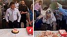 Facebook: hombre termina herido luego de morder su pastel de cumpleaños