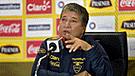 "DT de Ecuador: ""No estamos para pelear futbolísticamente contra Perú"" [VIDEO]"