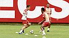 Cristian Benavente fue probado en el equipo titular del 'Tigre'
