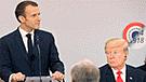 """Gobierno francés critica a Trump por no tener """"decencia común"""""""