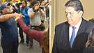 Periodista fue víctima de robo durante cobertura de la citación de Alan García [VIDEO]