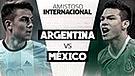 VER EN VIVO Argentina vs México vía TyC Sports y TDN: amistoso 2018 por Fecha FIFA
