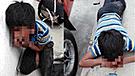 Niño es golpeado brutalmente cuando fue sorprendido robando comida [VIDEO]