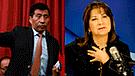 """Martha Chávez dice que es normal ser """"tocado"""" en los pasillos del avión"""