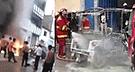 Cajamarca: Mujer sufre graves quemaduras tras explosión de mototaxi [VIDEO]