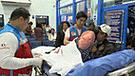 INEN: menor con tumor en el ojo arribó a Lima para empezar con tratamiento