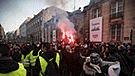 Francia en caos: protestas contra reformas de Macron dejan 409 heridos [FOTOS]