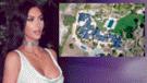 Foto de cómo quedó la propiedad de Kim Kardashian tras incendio en California