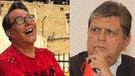 Jimmy Santy le tilda de 'rata' y 'demonio' a Alan García  [FOTOS]