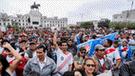 Alan García: Sigue EN VIVO la marcha que rechaza el asilo político al expresidente