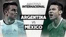 Argentina 1-0 México EN VIVO ONLINE: 'albicelestes' ganan por amistoso FIFA 2018