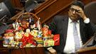 """Fujimorista Mantilla sobre no recibir canasta navideña: """"No estoy de acuerdo"""" [VIDEO]"""
