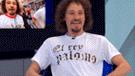 YouTube viral: Luisito Comunica sorprende al usar polo hecho en Gamarra para su entrevista en Chile [VIDEO]