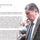 La carta de asilo diplomático que envió Alan García al presidente de Uruguay