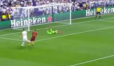 Real Madrid vs AS Roma: Gareth Bale puso el 2-0 con un soberbio 'misil' [VIDEO]