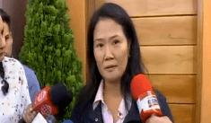 """Fujimori sobre Hinostroza: """"Esperamos las medidas necesarias para hacerlo volver"""""""