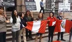 Realizaron plantón en Cusco debido a la fuga de César Hinostroza y la investigación a Keiko Fujimori [VIDEO]