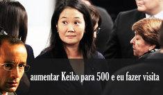 Keiko Fujimori se quejó que le faltan 500 páginas al pedido del MP
