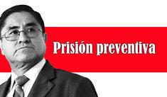 César Hinostroza: PJ ordenó 36 meses de prisión preventiva contra exjuez